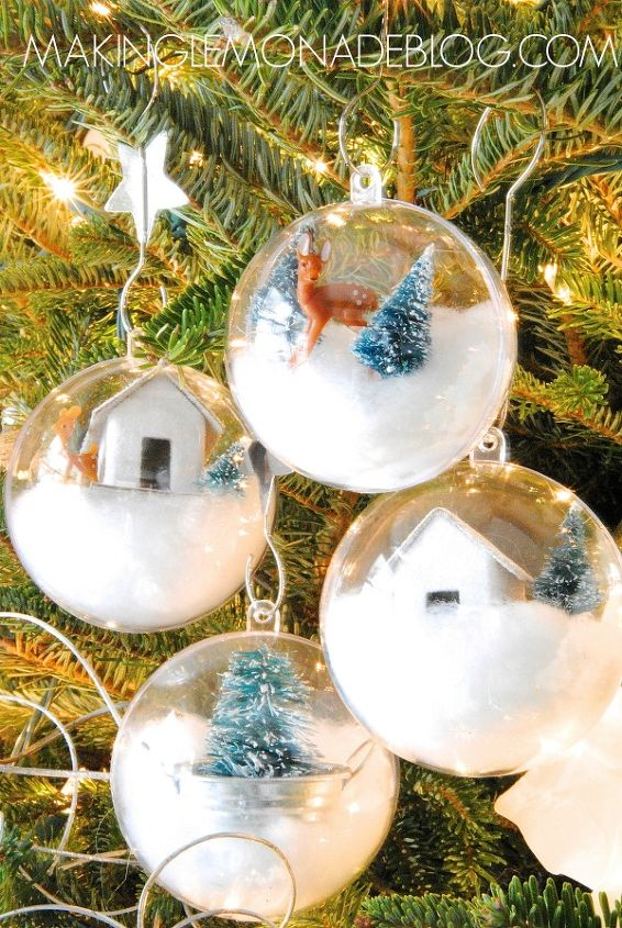 Diy Whimsical Woodland Ornaments Hometalk