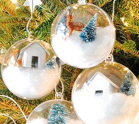 Michaels Christmas Craft Ideas Part - 50: Diy Whimsical Woodland Ornaments, Christmas Decorations, Crafts,  Repurposing Upcycling, Seasonal Holiday Decor