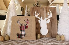 diy deer art, crafts, how to
