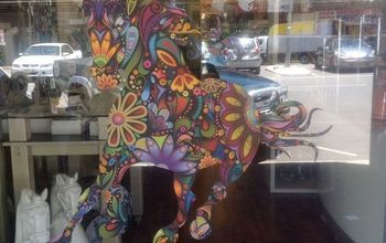 Customer Storefront With Wild Horse Decal