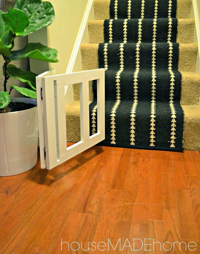 diy dog gate from a bench a tutorial, home improvement, how to, pets animals