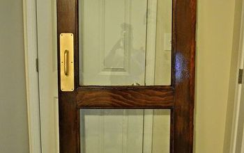 how to use a salvaged door indoors, doors, repurposing upcycling, wall decor