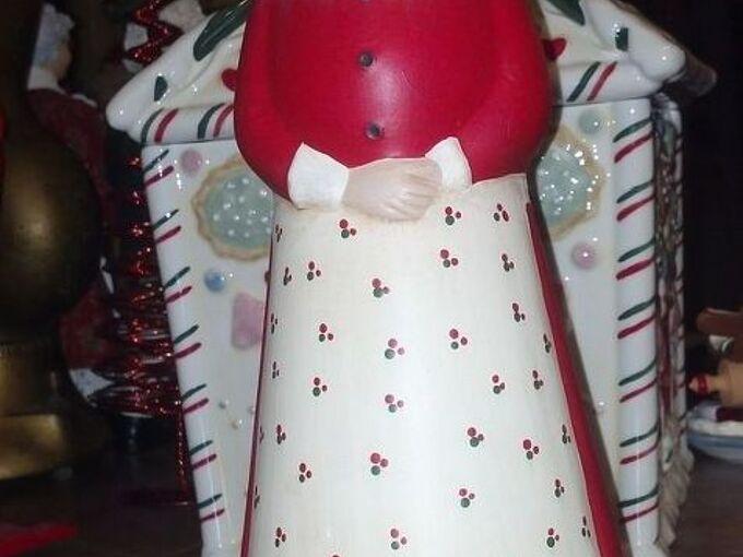 mrs santa claus butterworth, christmas decorations, crafts, seasonal holiday decor
