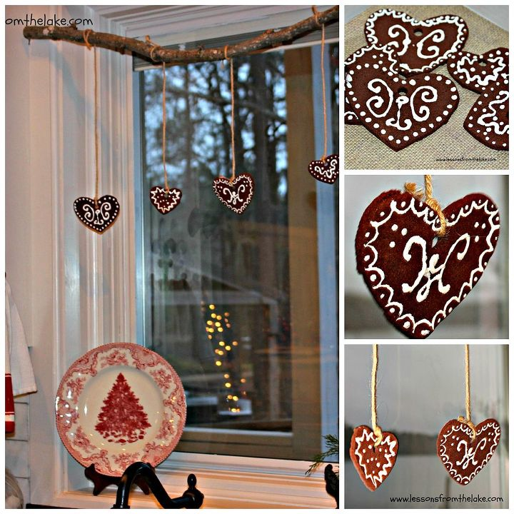 how to make felt gingerbread ornaments, christmas decorations, crafts, seasonal holiday decor