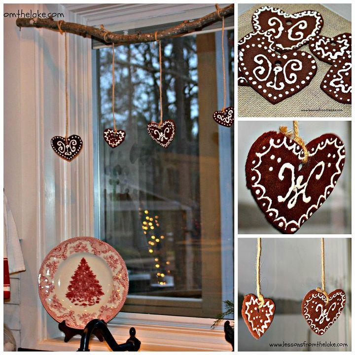 how to make felt gingerbread ornaments, christmas decorations, crafts, seasonal holiday decor
