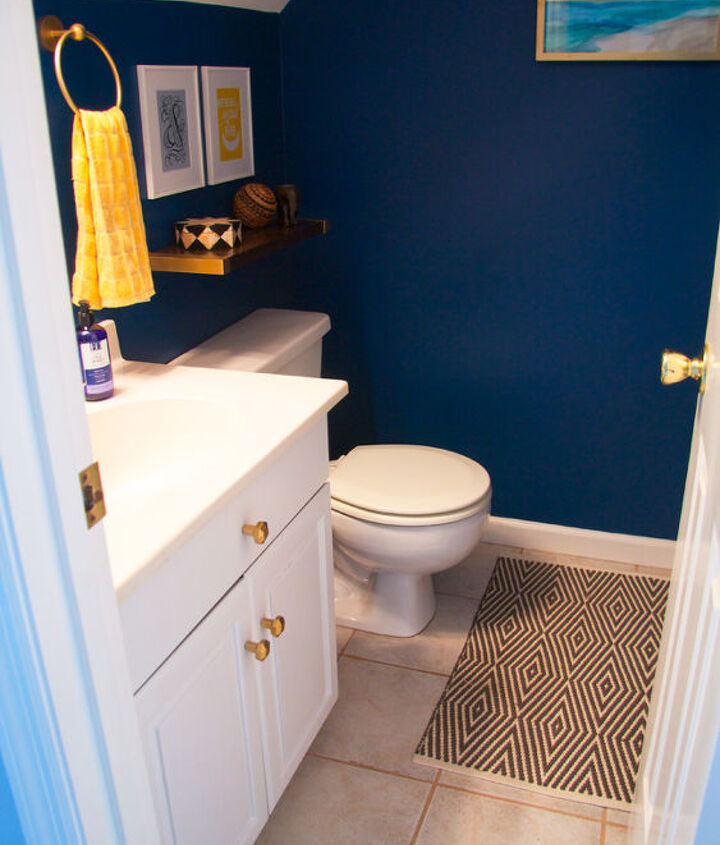 remodeling a small bathroom, bathroom ideas, home improvement, painted furniture, small bathroom ideas, wall decor, woodworking projects