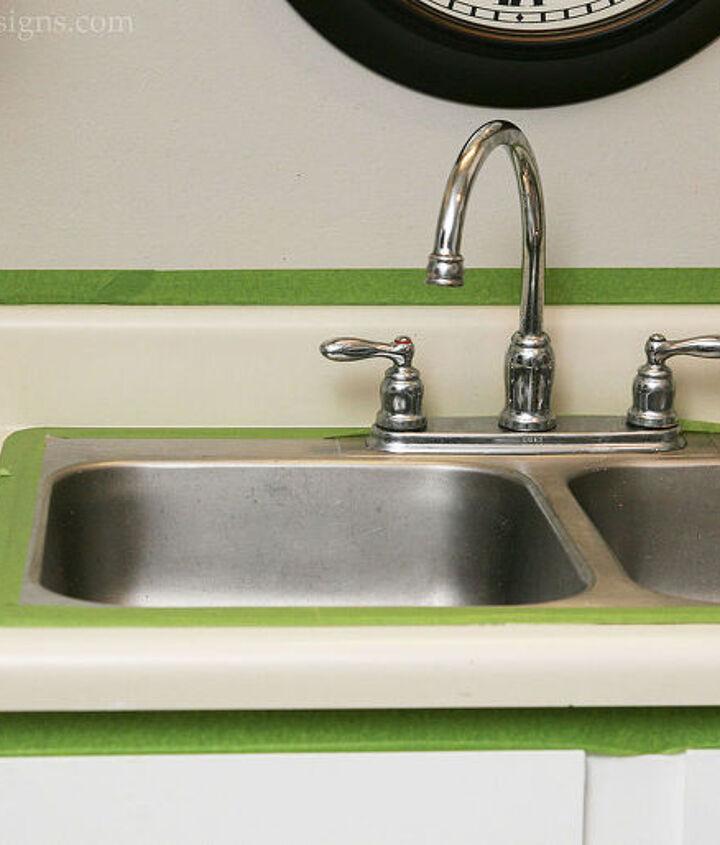 painting laminate countertops, countertops, kitchen design, painting