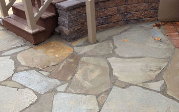 Natural Flagstone Patio Extension