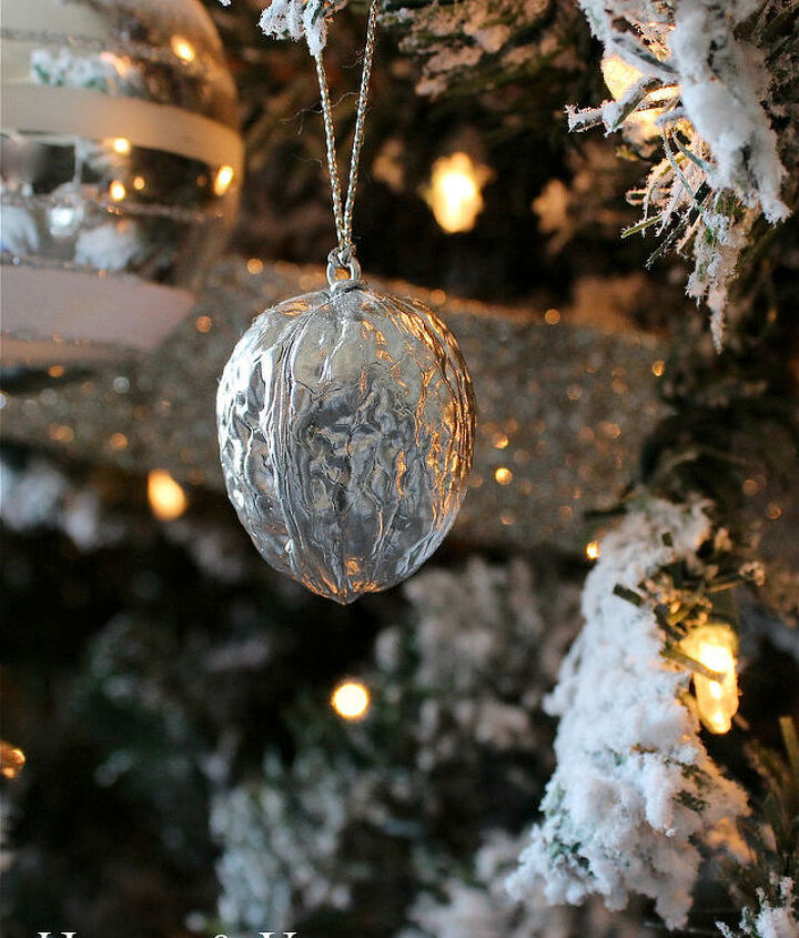 how to make a silver and white flocked christmas tree, christmas decorations, crafts, seasonal holiday decor