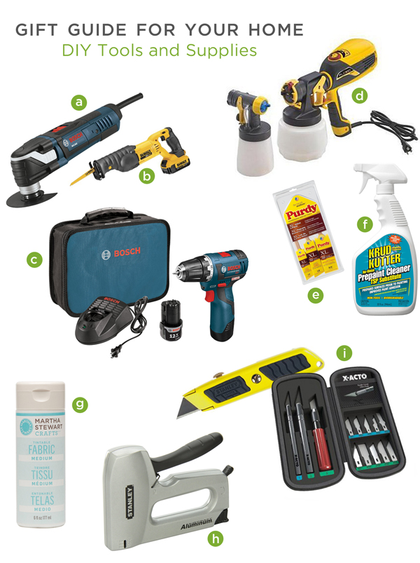 holiday gift guide diy tools and supplies, crafts, diy, painted furniture, tools