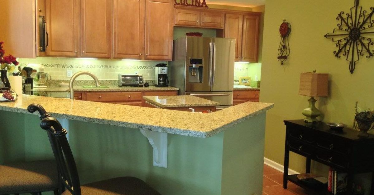 Updating My Kitchen Wall Color and Cupboard Top.   Hometalk