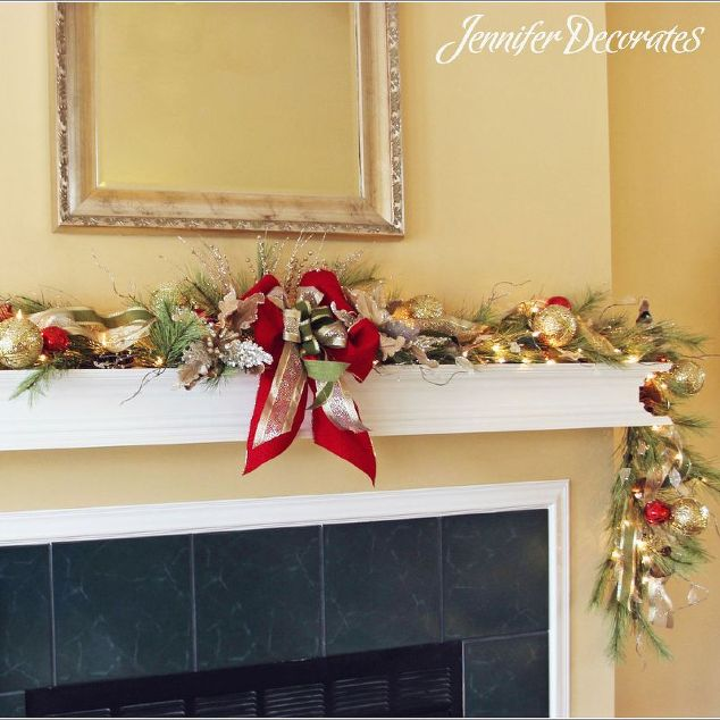 Christmas Mantel Decorating Ideas   Hometalk