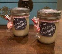 diy peppermint sugar scrub a fabulous fresh holiday gift, christmas decorations, crafts, diy, mason jars, seasonal holiday decor