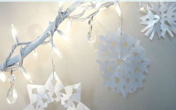 How To Make a Paper Snowflake- Video