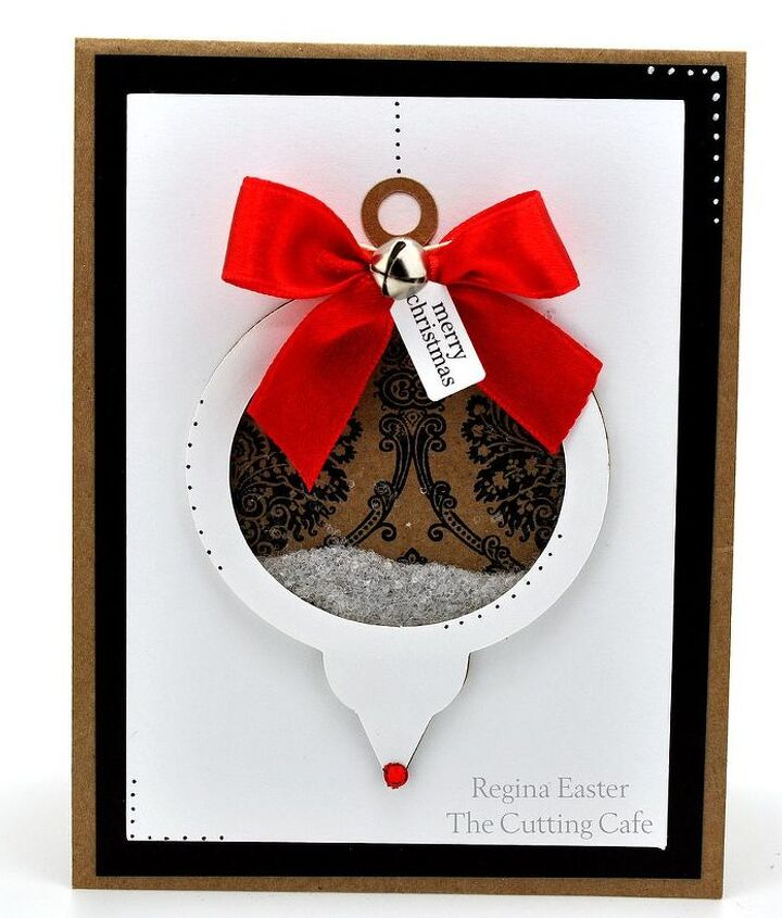 how to make christmas card template, christmas decorations, crafts, seasonal holiday decor