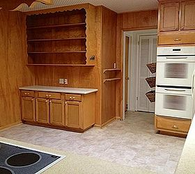 Q Make A Chalkboard Wall On 60 S Wood Paneling, Chalkboard Paint,  Painting,. Kitchen Area