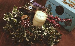 fast and easy grapevine wreath centerpiece with bird babies, crafts, wreaths