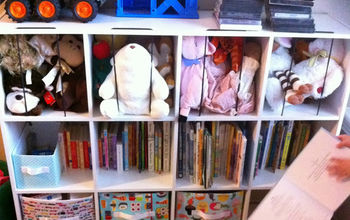 how to make stuffed animal toy storage, entertainment rec rooms, organizing, storage ideas