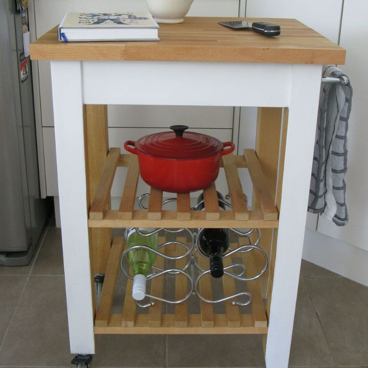 Another Ikea Kitchen Trolley Butchers Block Kitchen