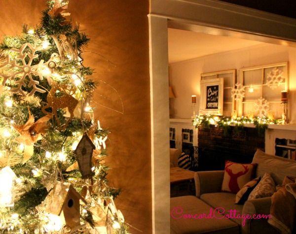 Holiday home decor hometalk holiday home decor christmas decorations crafts fireplaces mantels seasonal holiday decor teraionfo