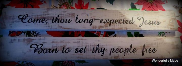 idea for christmas fence board art, christmas decorations, crafts, repurposing upcycling, seasonal holiday decor, woodworking projects