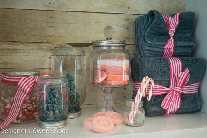 diy candy cane soap diygifts, christmas decorations, crafts, repurposing upcycling, seasonal holiday decor