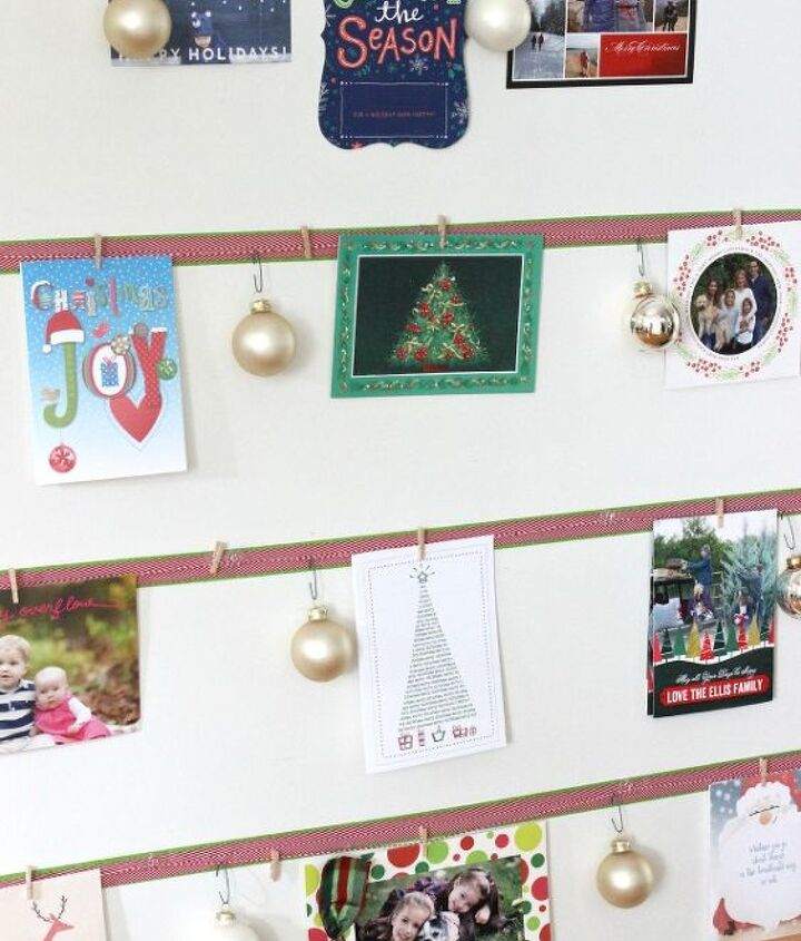how to turn your cards into a christmas tree display, christmas decorations, crafts, seasonal holiday decor