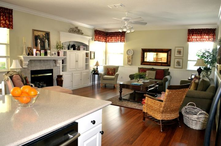 Family Room Kitchen Designs. before and after kitchen family room redo  home decor design living Before After Kitchen Family Room Redo Hometalk