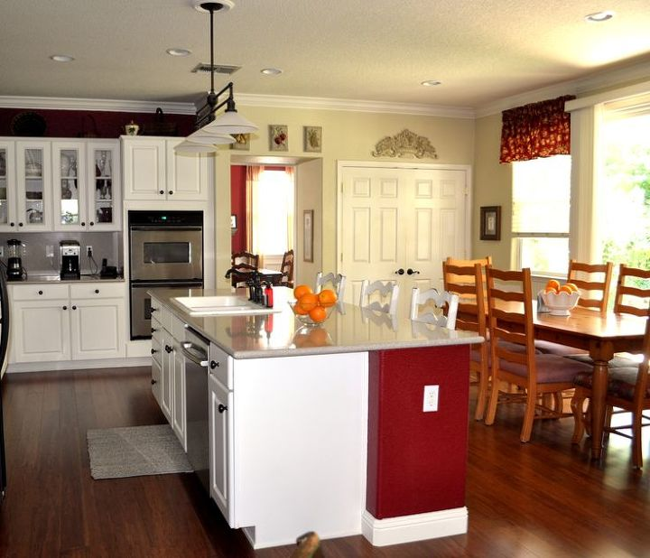 Admirals Kitchen Living Room Remodel: Before And After Kitchen And Family Room Redo