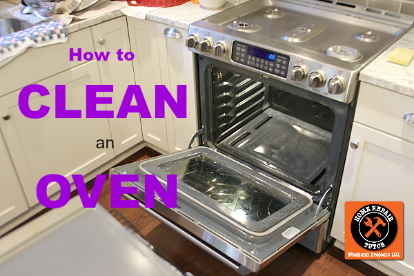 how to clean an oven, appliances, cleaning tips, how to