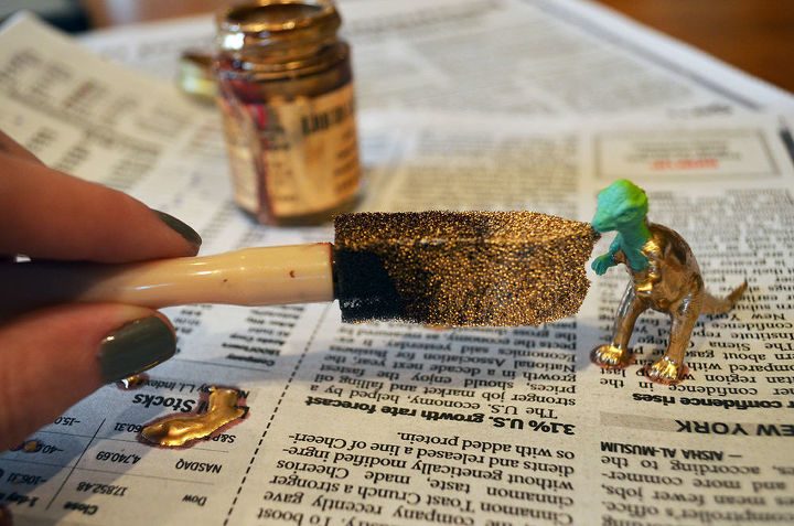 I Both Gold And Silver Spray Paint If You Aren T Using Krylon Metallic Make Sure Go With A Brand Of That Can Be On