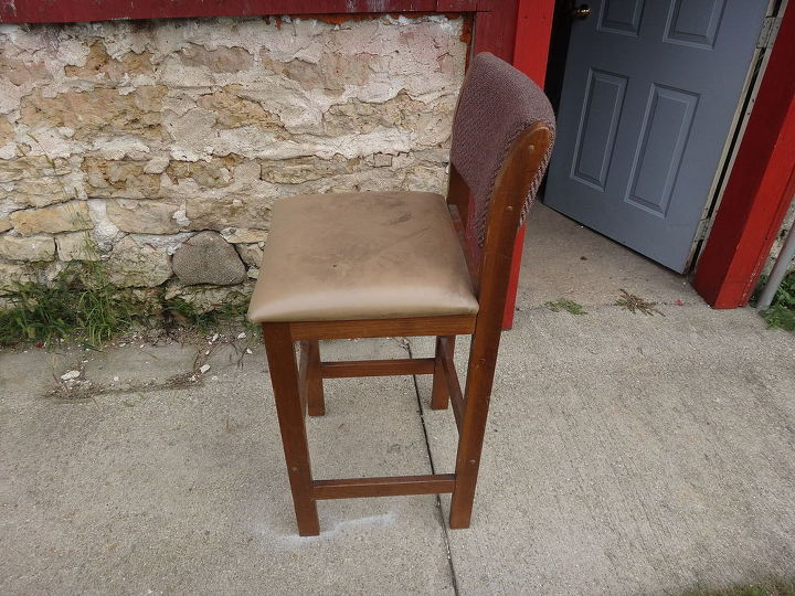 how to make blue jean bar stools, dining room ideas, entertainment rec rooms, repurposing upcycling, reupholster
