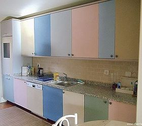 How To Chalk Paint Kitchen Cabinets In Different Colors, Chalk Paint, Kitchen  Cabinets,