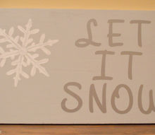 diy winter wall art, christmas decorations, crafts, repurposing upcycling, seasonal holiday decor