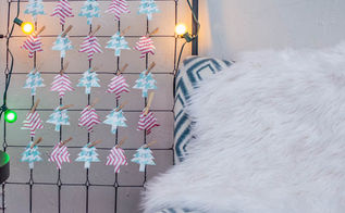 how to make a simple trace and cut advent calendar, christmas decorations, crafts, organizing, repurposing upcycling, seasonal holiday decor