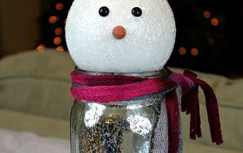 snowman mason jar gift, christmas decorations, crafts, mason jars, repurposing upcycling, seasonal holiday decor