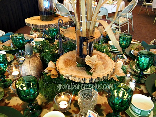 duck dynasty christmas tablescape ideas, christmas decorations, crafts, repurposing upcycling, seasonal holiday