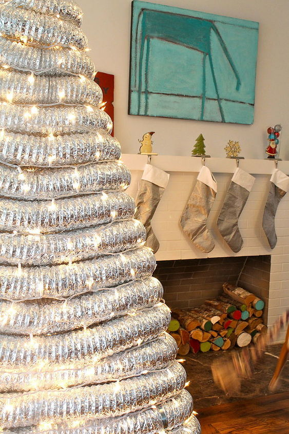 how to make a contemporary industrial tree, christmas decorations, crafts, how to, repurposing upcycling, seasonal holiday decor, woodworking projects