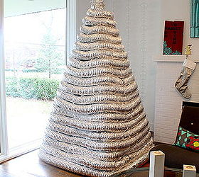 Ideas For Christmas Crafts To Make Part - 49: How To Make A Contemporary Industrial Tree, Christmas Decorations, Crafts,  How To,