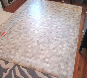 How To Install A Sheet Vinyl Floor, Bathroom Ideas, Flooring, Home  Improvement,