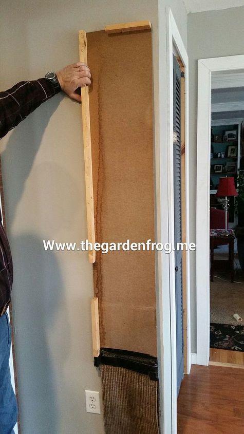 diy scrap wood patio dog cat door hometalk