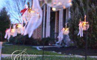 christmas luminarias, christmas decorations, crafts, lighting, seasonal holiday decor