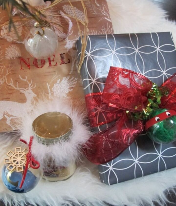 three easy diy ornament gift tags, christmas decorations, crafts, repurposing upcycling, seasonal holiday decor