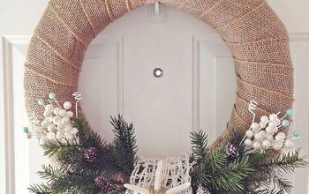 DIY Coastal Winter Wreath