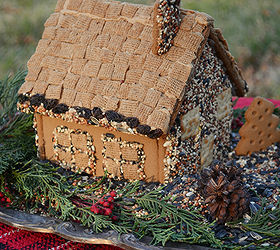 Superior Create A Gingerbread House Bird Feeder, Crafts, Outdoor Living