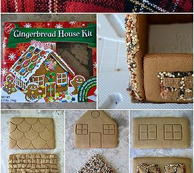 Create A Gingerbread House Bird Feeder, Crafts, Outdoor Living