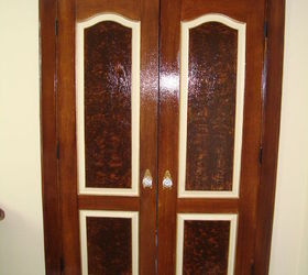 dramatic door makeover with fake wood grain stencil doors painting woodworking projects & A Dramatic Door Makeover With Fake Wood Grain Stencil | Hometalk Pezcame.Com
