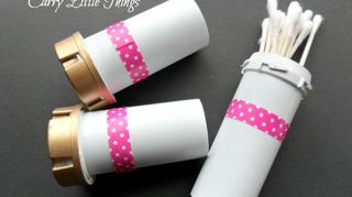 q repurpose pill bottles, crafts, repurposing upcycling, Re Use Pill Bottles to Carry Little Things