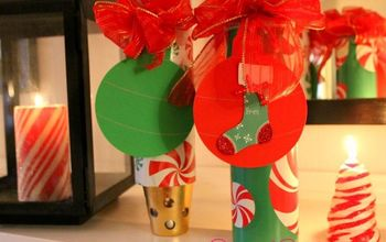 Gift Wrap Containers From Pringles Cans