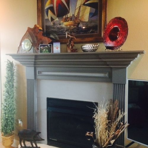 Looking for ideas for my old fireplace | Hometalk